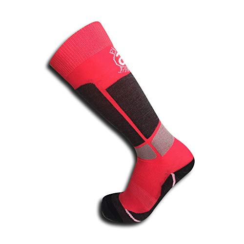 2 Pairs of Kids Junior (Boys/Girls) Performance Socks Perfect for Keeping Warm During Skiing and Snow Boarding