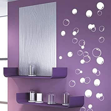 58 Bubbles Bathroom Window Shower Tile Wall Stickers Wall Decals