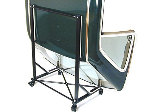 Mercedes SL Hard Top Storage Cart (BLACK) with Cover
