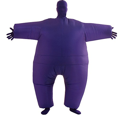 Purple Inflatable Funny Costumes - VOCOO Lnflatable Costumes Adult Size Inflatable