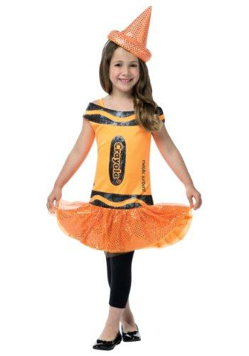 Rasta Imposta Girls Crayola Glitz (Crayon Costume For Girls)