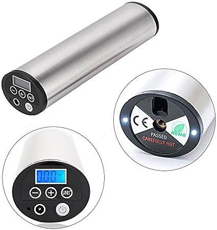 Shsyue® Mini Compresor de Aire Portátil Inflador Eléctrico para la ...