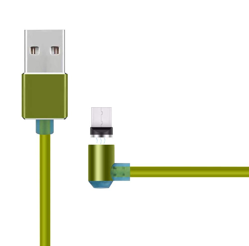 Cable BQ Aquaris U magnetico 90 Grados Cable Micro USB ...