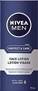 NIVEA MEN Protect & Care Face Lotion, 75 mL tube (B00BO0B9Y6)   Amazon Products