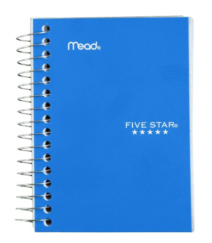 Five Star Fat Lil' Wirebound Notebook 200-Count (45388), Colors May Vary