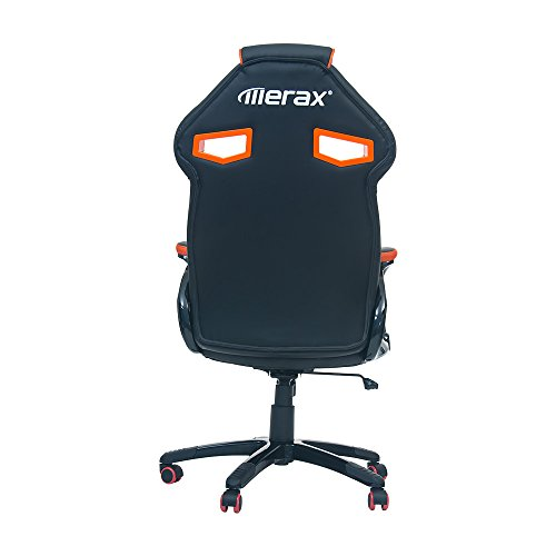 Merax Stylish Devil S Eye Series High Back Gaming Chair Pu
