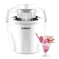 CHULUX invited you to join a Healthy & Delicious Life with your home-made frozen desserts. CHULUX Ice Cream Maker is ideal for summer entertaining, birthday party or backyard barbecue. Comes with a heavy-duty motor and a double-insulated ...