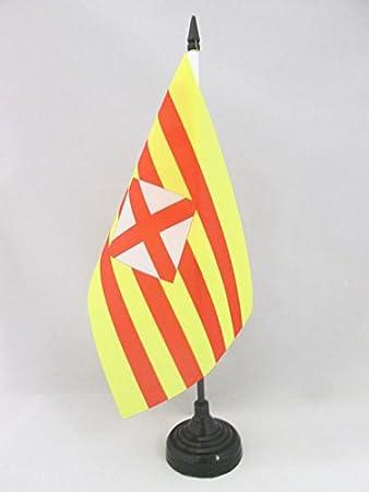 flaggen AZ FLAG TISCHFLAGGE BOSNIEN UND HERZEGOWINA 21x14cm BOSNISCHE TISCHFAHNE 14 x 21 cm