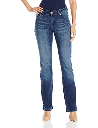 LEE Women's Modern Series Curvy Fit Bootcut Jean with Hidden Pocket, Cascade, 6 Short