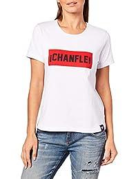 El Chapulín Colorado x Seco Playera Básica Chanfle para Mujer.