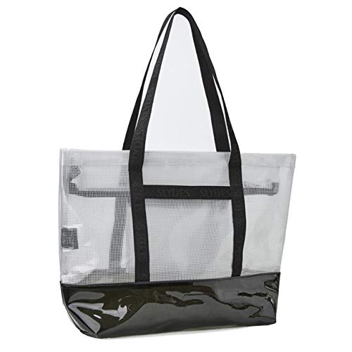 Slydes Connect White Tote Bag
