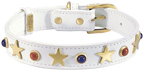 Dosha Dog American Dog Collar, X-Large, White