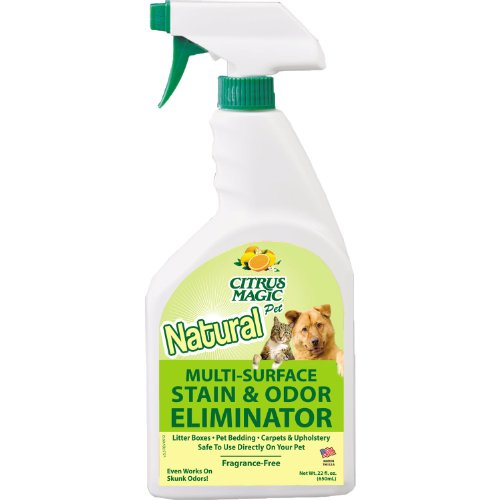 Citrus Magic Carpet - Citrus Magic Pet Odor Eliminator 22 Ounce Spray