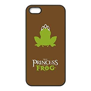 iPhone 5 5s Cell Phone Case Black Princess and the Frog Phone Case Cover Customized Design CZOIEQWMXN2413