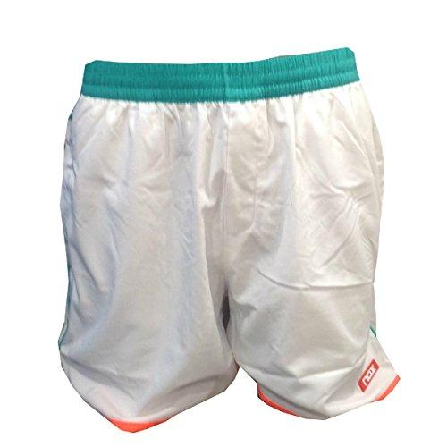 NOX Pantalón Padel Hombre Blanco Coral XXL: Amazon.es: Deportes y aire libre