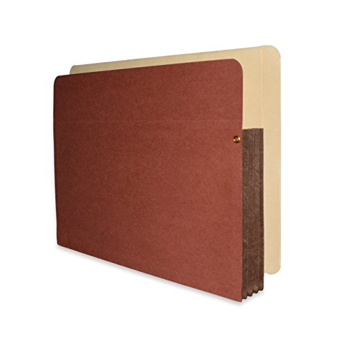 Fibre-Guard End Tab File Pocket, Letter Size with 3 1/2