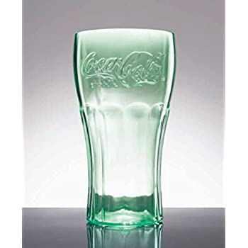 COCA COLA 16.75 OZ Glass 12 Piece Set Collectible Retro TUMBLER DRINKING Glasses