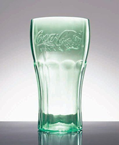 (20 oz. Coca-Cola Plastic Tumblers, GET 1120-JC-EC (Set of 4))