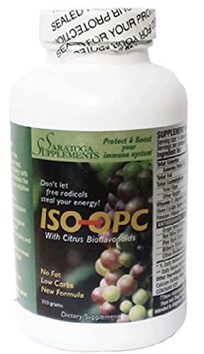Isotonic ISO-OPC 310 gramspowder 90 servings with grape-seed extract pine bark and red wine extracts Discount
