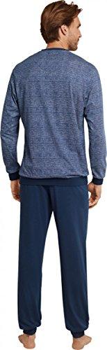 Seidensticker / Schiesser 161179 804 Schlafanzug Pyjama nachtblau