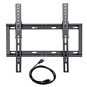 universal low profile tilting 22 to 50 inch tv wall mount bracket for sony samsung. Black Bedroom Furniture Sets. Home Design Ideas