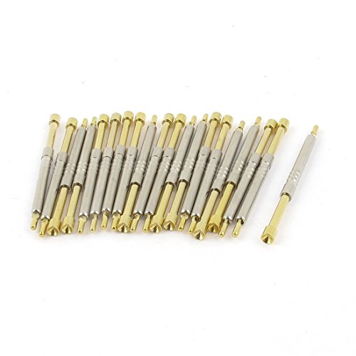 uxcell 20pcs PH-4A 2.5mm Dia Concave Tip Spring PCB ICT Testing Contact Probes Pin