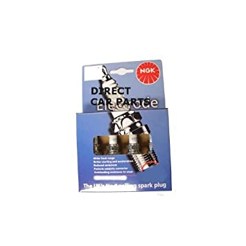 NGK bkr5e-11 (409) V-groove electrodo Spark Plug Set.: Amazon.es: Coche y moto