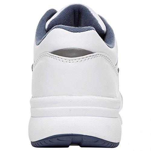 ... Propet Kvinners Tur Walker Tropp Sneaker Hvit / Blå ...