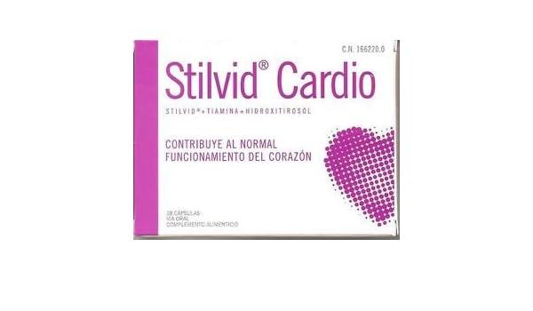 Amazon.com: STILVID CARDIO 28 COMPRIMIDOS LABORATORIOS ACTAFARMA Good Quality for Everyone Fast Shipping Ship Worldwide: Health & Personal Care