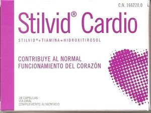 STILVID CARDIO 28 COMPRIMIDOS LABORATORIOS ACTAFARMA Good Quality for Everyone Fast Shipping Ship Worldwide