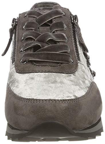 Gabor para Gris Mujer Casual 19 Zapatillas Zinn Gabor Grau Shoes 5HOqwA