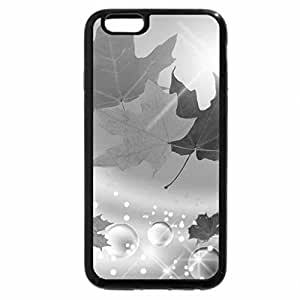 iPhone 6S Plus Case, iPhone 6 Plus Case (Black & White) - Shine on Autumn