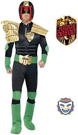 Disfraz de Juez Dredd para Hombre talla M: Amazon.es: Juguetes y ...