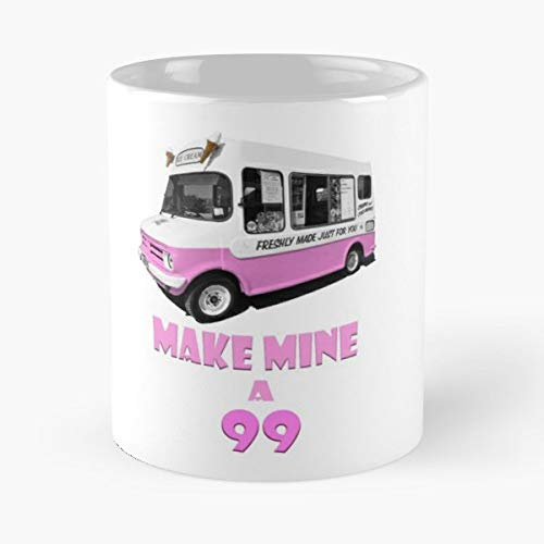 Ice Cream Van Bedford Cf - Coffee Mugs Unique Ceramic Novelty Cup ()