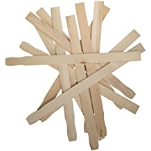 12 inch Paint Stir Sticks   Bulk Pack of 50 Hardwood Stirrers   Paint Stirring Sticks for Epoxy or Resin   Garden or Library Marker   Wood Crafts - By Woodpeckers