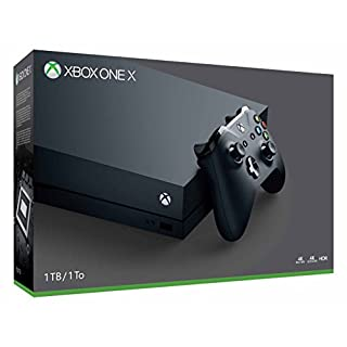 Microsoft Xbox One X 1Tb Console With Wireless Controller: Xbox One X Enhanced, Hdr, Native 4K, Ultra Hd (Discontinued)