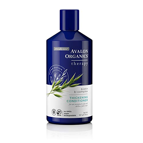 Avalon Organics Biotin B-Complex Thickening Conditioner, 14 oz.