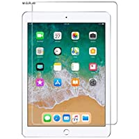 M.G.R.J® Tempered Glass Screen Protector for Apple iPad(6th Gen) Tablet (9.7 inch)
