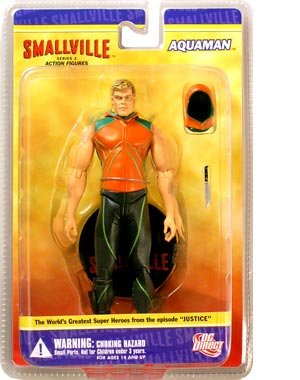 Smallville: Aquaman Action Figure by DC Direct