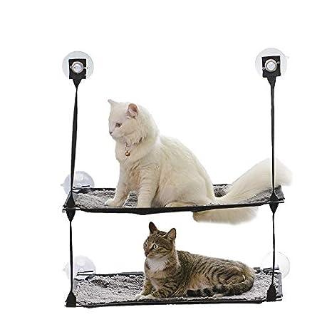 JLFAIRY Doble Capa Mascota Perro Perro Cama Hamaca Transpirable Cómoda Hamaca para Jugar Perro Pequeño Gato Durmiendo Hamaca: Amazon.es: Productos para ...