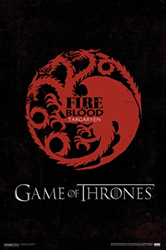 game-of-thrones-fire-and-blood-targaryen-hbo-medieval-fantasy-tv-television-series-poster-12x18