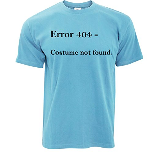 Sky Ted Not 404 And Error T Nerdy Found Shirt Halloween Tim Blue Costume PwHxnqwU
