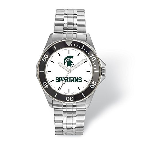 Lex & Lu LogoArt Michigan State University Champion Gents Watch
