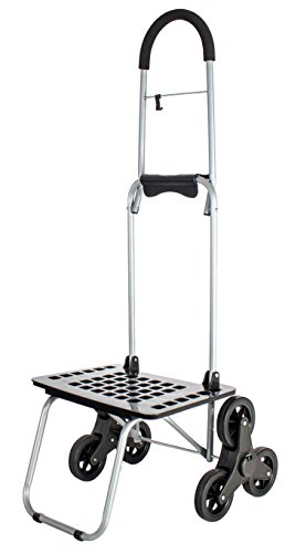 dbest products Stair Climber Bigger Mighty Max Personal  Dolly, Black Handtruck Cart Hardware Garden Utilty