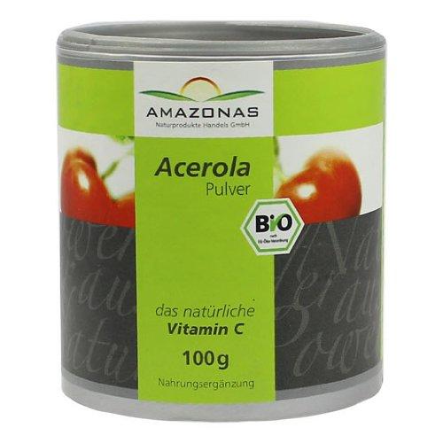 ACEROLA 100% natuerliches Vitamin C Pulver, 100 g