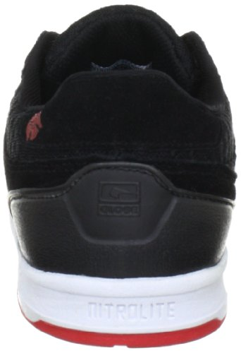 Globe The Odin S2 GBODINS2 - Zapatillas de deporte de ante unisex Negro