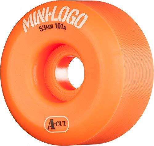 Mini-Logo A-Cut 52 x 101 Orange