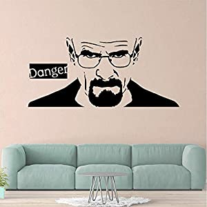 Wall Stickers, Wall Decals, Wall Paintings, Wall Tattoos, Wall Posters,Man Danger Wall Sticker PVC Removable Waterproof Wall Decals Decoration Accessories Wall Decorations Living Room