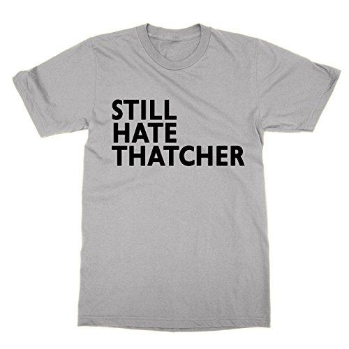 Clique Clothing Still Hate Thatcher T-Shirt (Grey, XL)