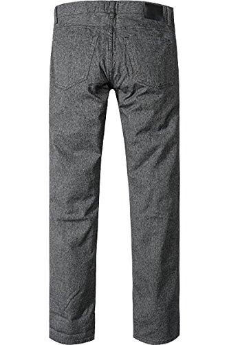 HUGO BOSS Herren Jeans Baumwolle Denim-Hose Meliert, Größe: 38/30, Farbe: Grau